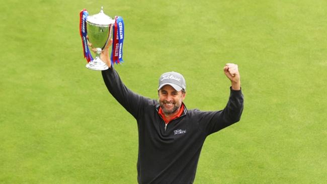 British Masters champion Richard Bland