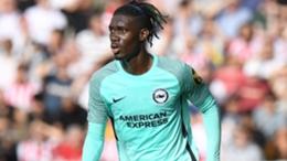 Brighton and Hove Albion midfielder Yves Bissouma