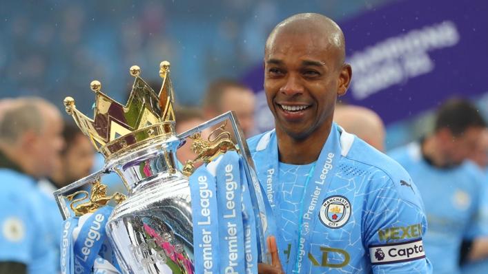 Fernandinho has won 10 league titles over spells at Shakhtar Donetsk and Manchester City