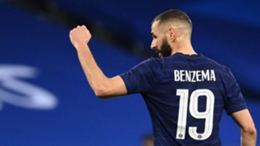 Karim Benzema returned to action for France in their friendly with Wales
