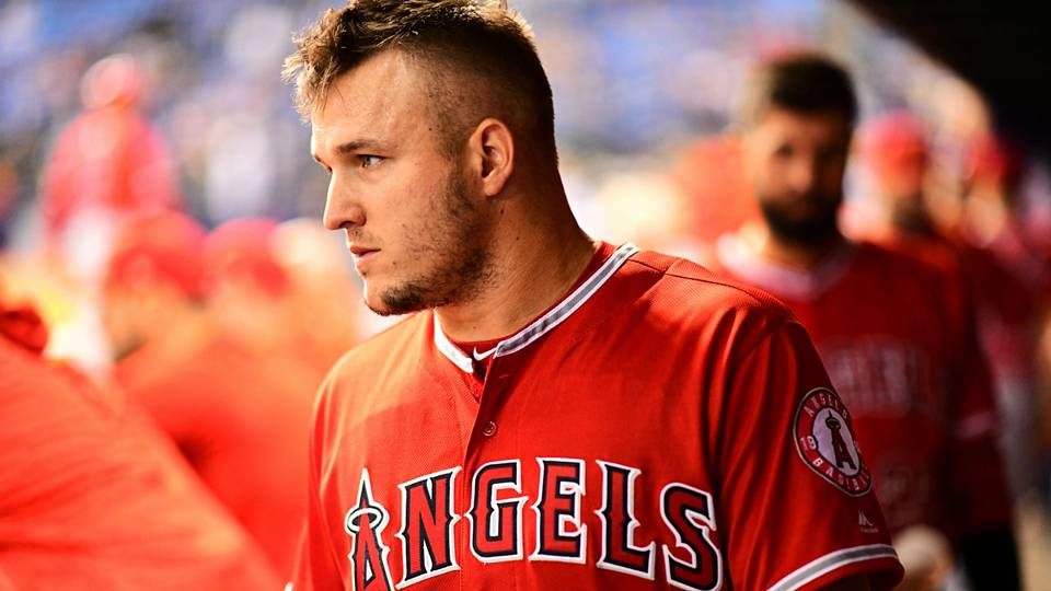 Mike Trout honors memory of brother-in-law Aaron Cox with Players Weekend tribute