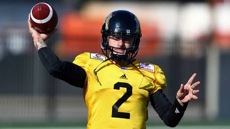 Johnny Manziel traded from CFL's Hamilton Tiger-Cats to Montreal Alouettes