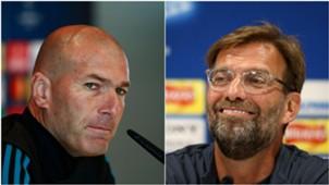 Zinedine Zidane / Jurgen Klopp