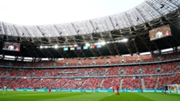 The Puskas Arena during Hungary's Euro 2020 match with Portugal