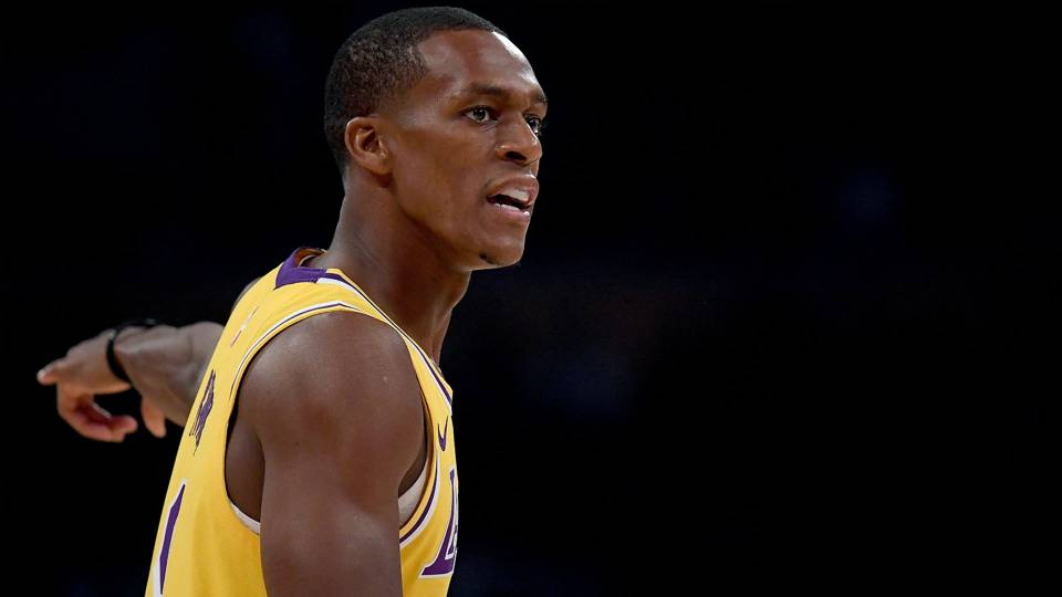 Lakers G Rajon Rondo explains why he didn't take wide open layup late in loss to Spurs