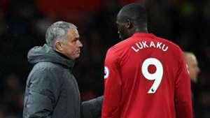 Jose Mourinho and Romelu Lukaku - cropped