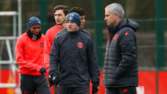 Wayne Rooney Jose Mourinho - cropped