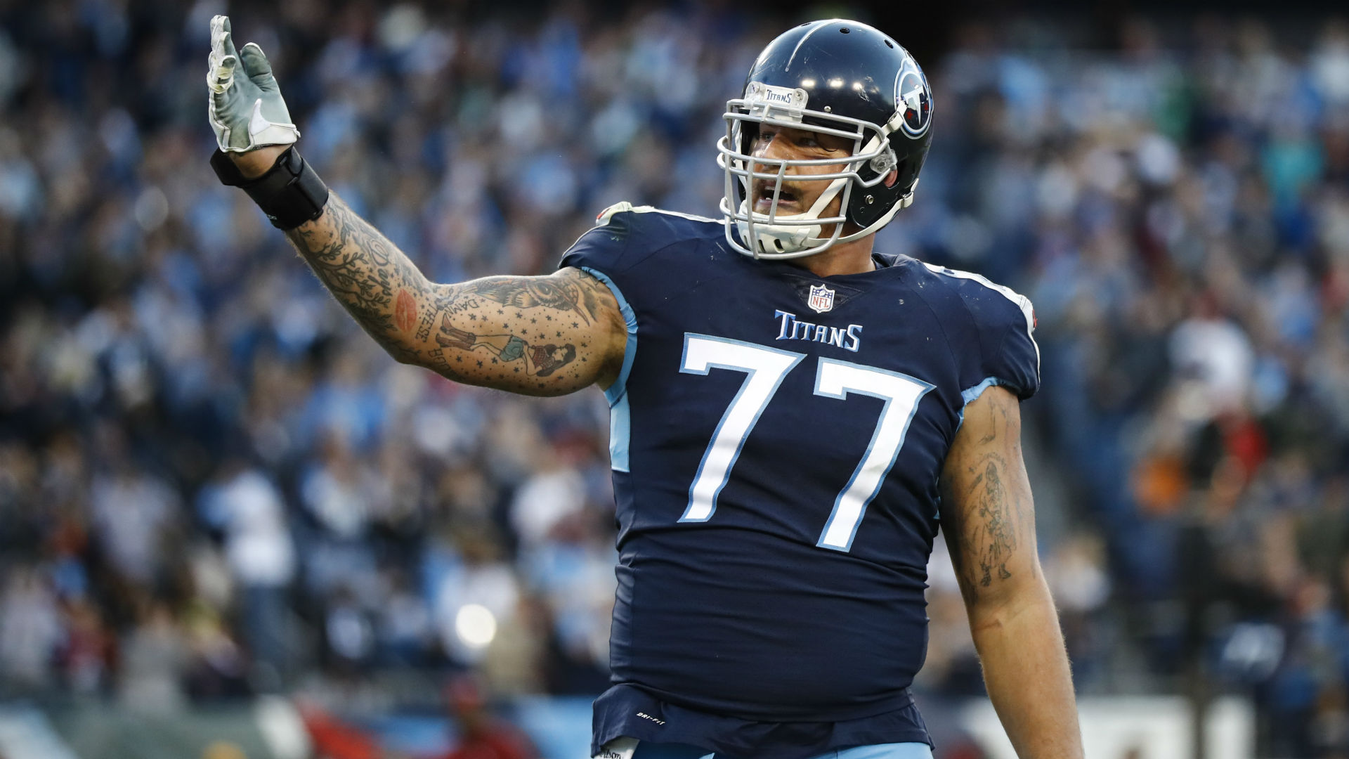Titans tackle Taylor Lewan loses appeal, suspended 4 games for violating NFL's PED policy
