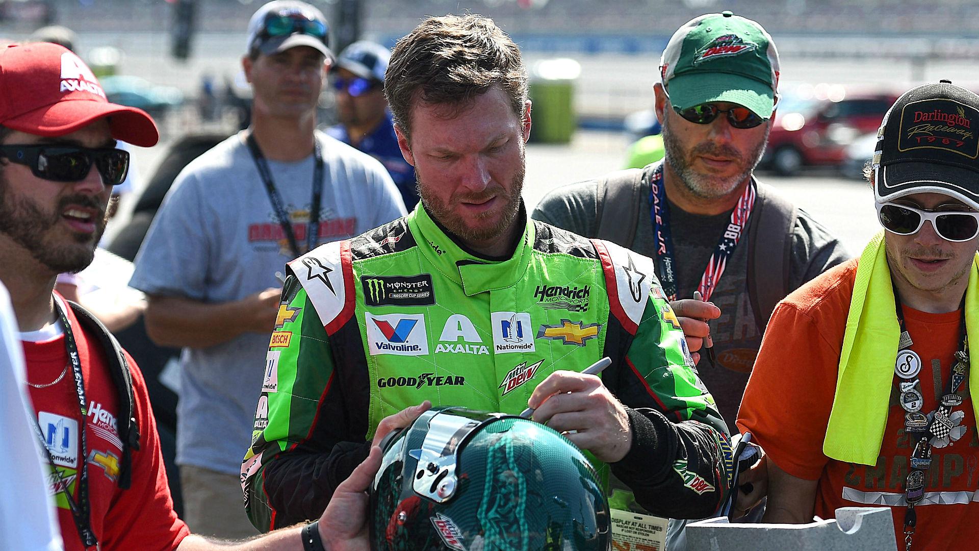 NASCAR starting lineup at Talladega: Dale Earnhardt Jr. captures pole for final 'Dega start