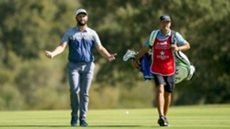 John Rahm cuts a dejected figure during a difficult first day in Andalucia