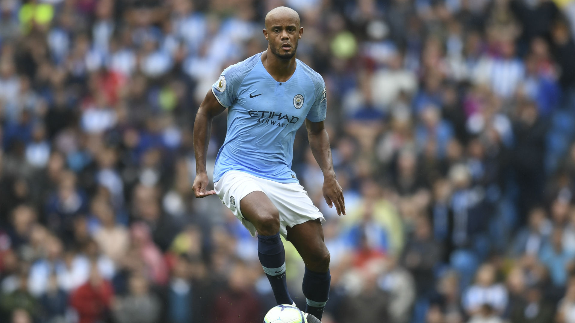 Vincent Kompany 'relaxed' about soon-to-expire Manchester City contract