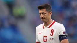 Robert Lewandowski was kept quiet for Poland