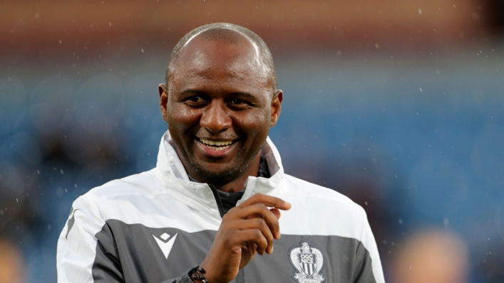 Patrick Vieira is the new man in charge at Crystal Palace