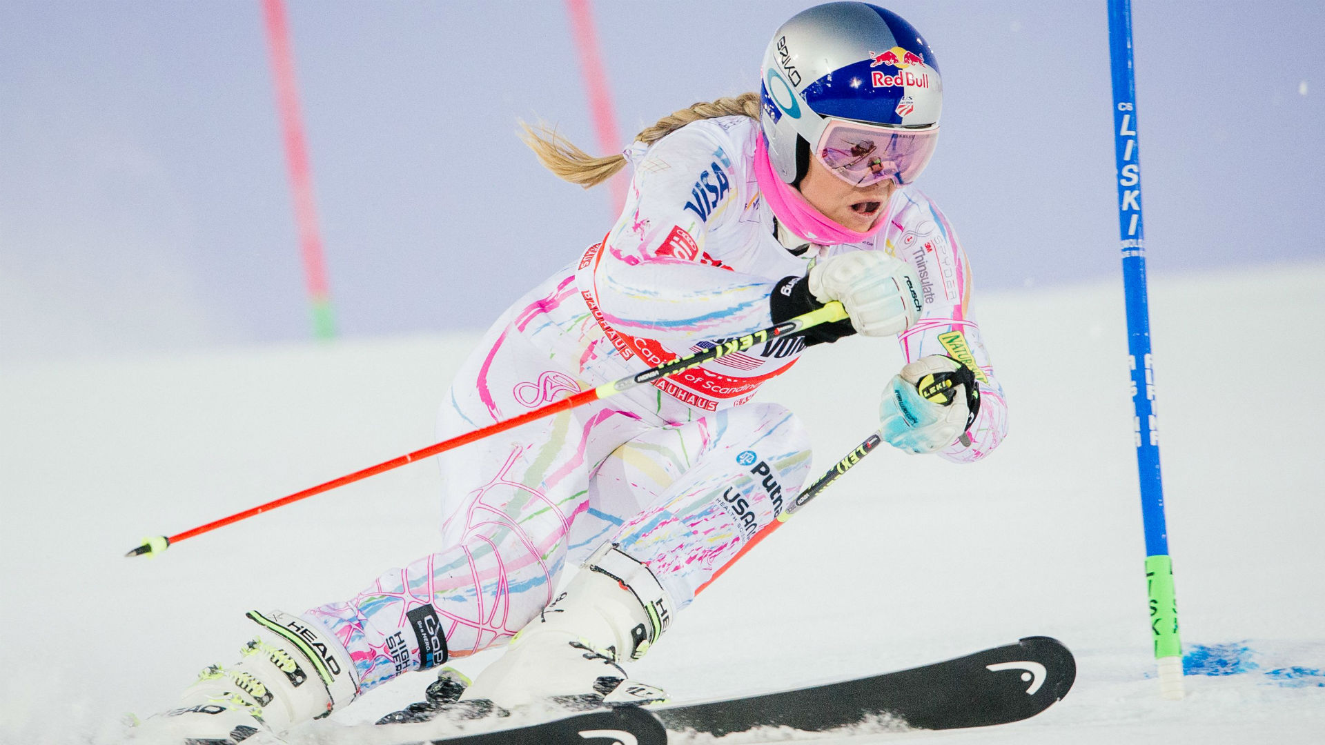 Lindsey Vonn Skiing Wallpaper