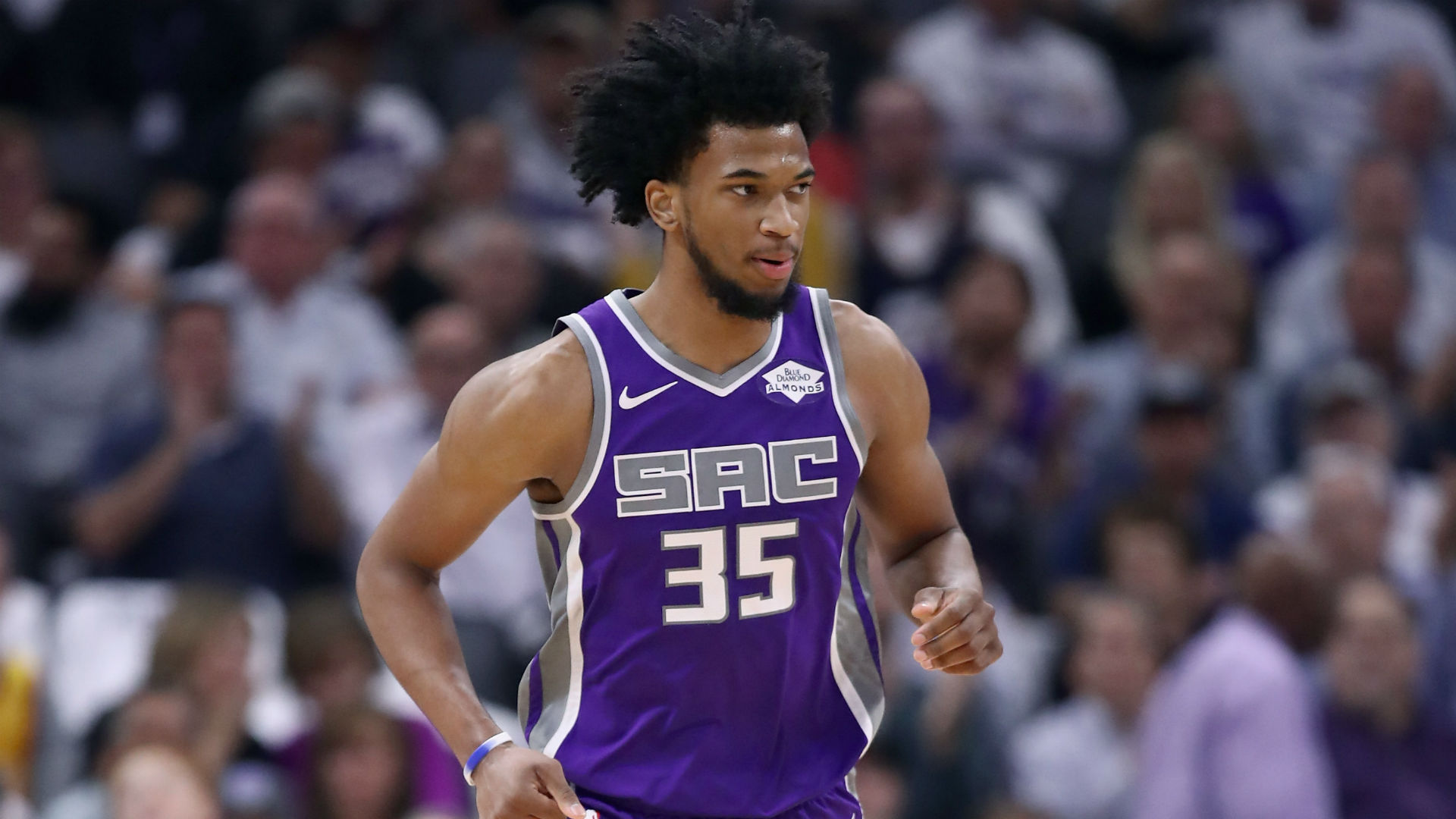 new style 22f0c 1f9d7 Kings' Marvin Bagley III to miss time with bruised knee ...