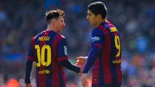 Lionel Messi and Luis Suarez - cropped