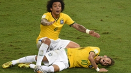 Neymar's 2014 World Cup was ended by injury