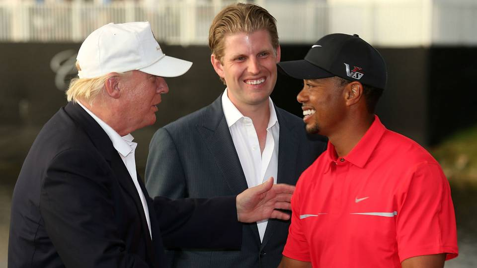 Tiger Woods on friendship with President Trump: 'We all must respect the office'