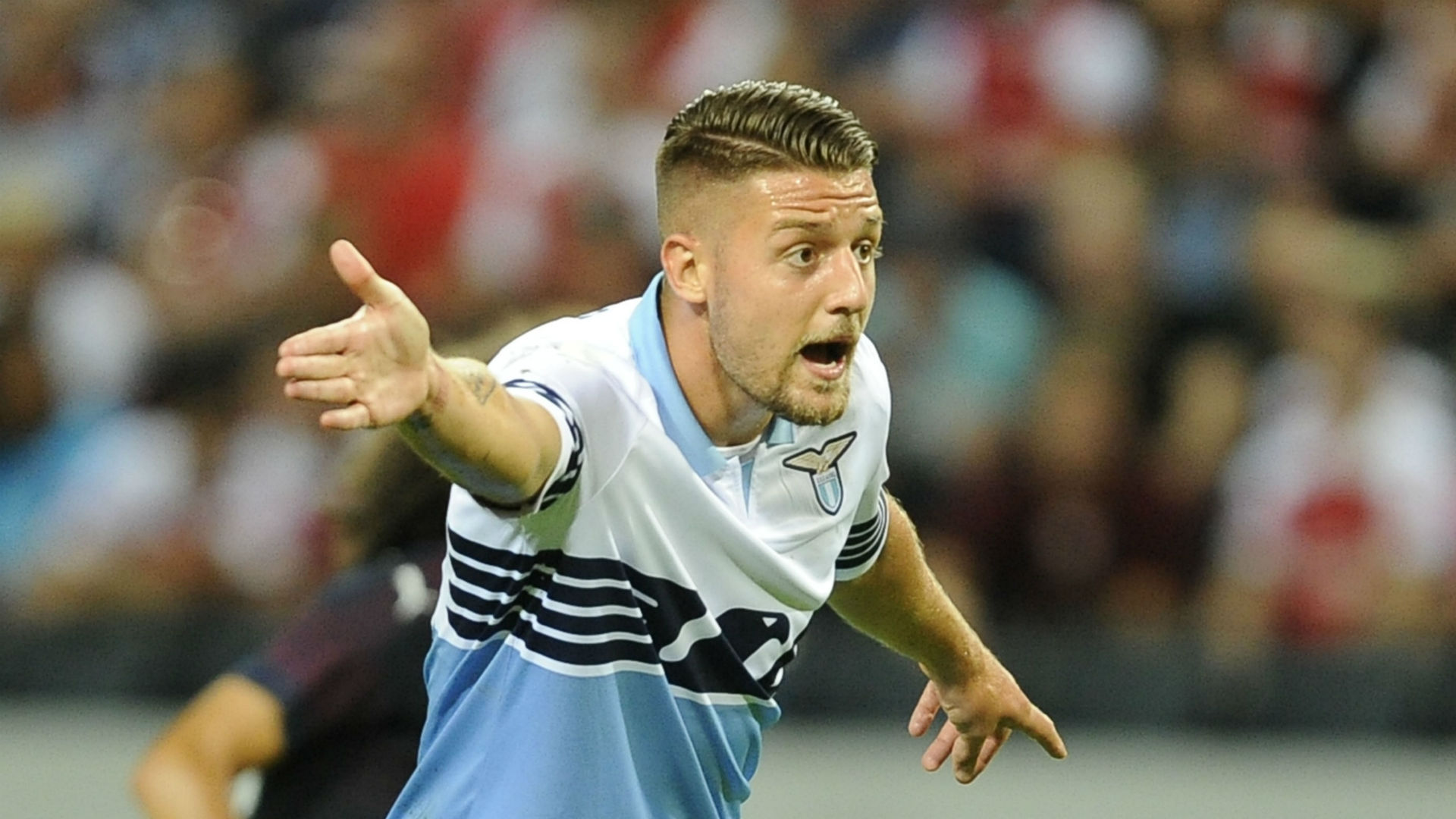 United planning Milinkovic-Savic bid