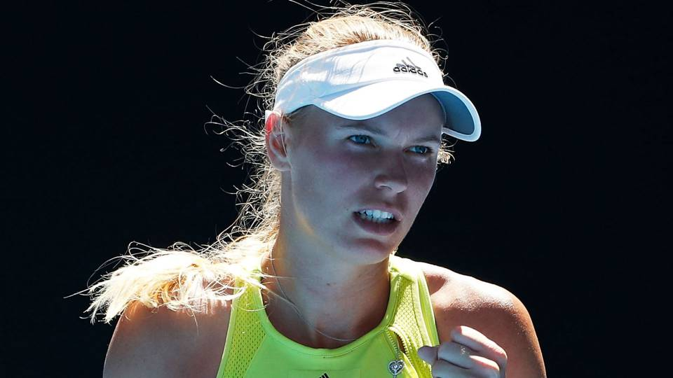 Australian Open 2018: Caroline Wozniacki's remarkable comeback rules day