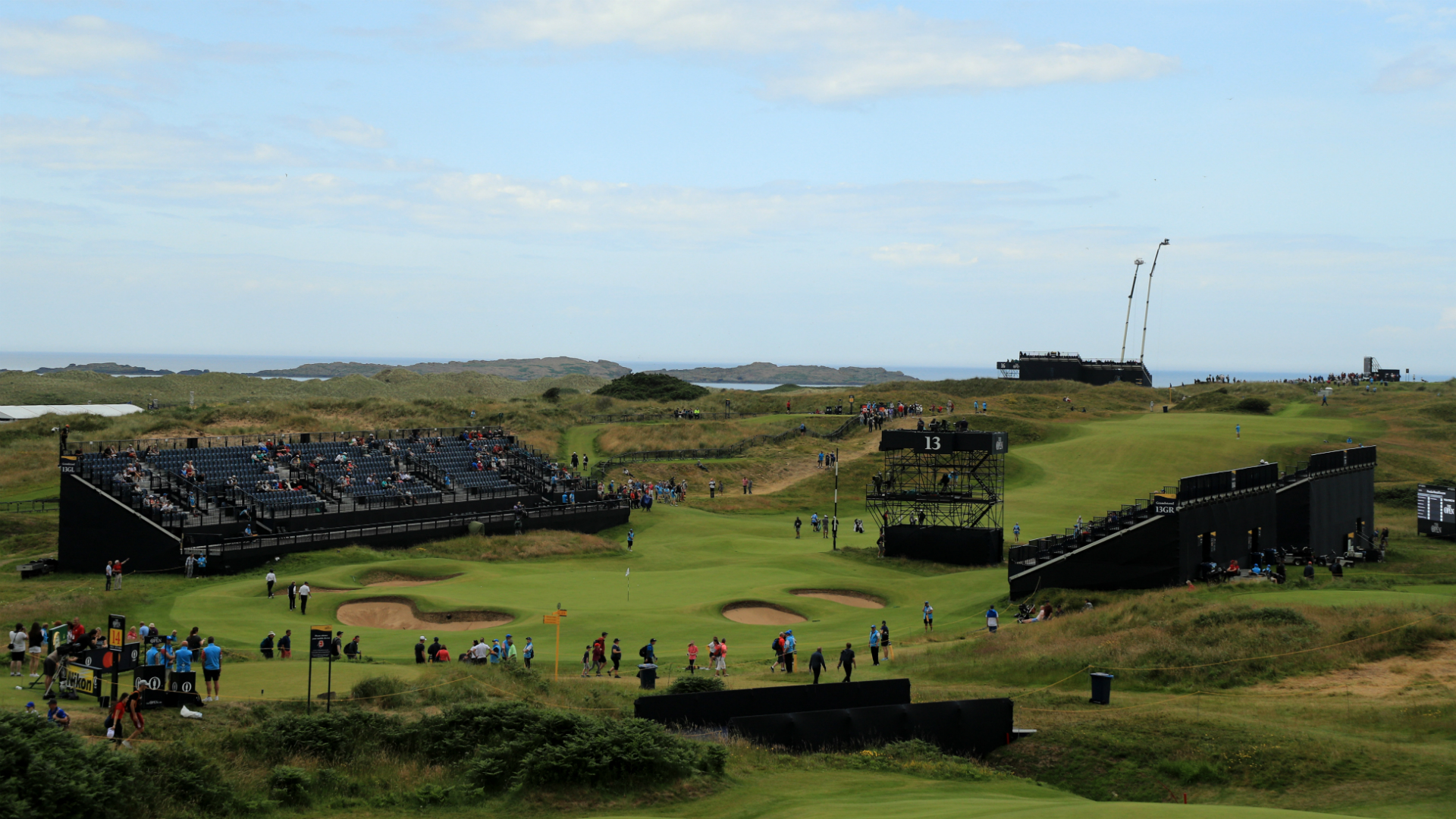 British Open 2019: Sunday tee times moved up due to adverse weather threat at Portrush