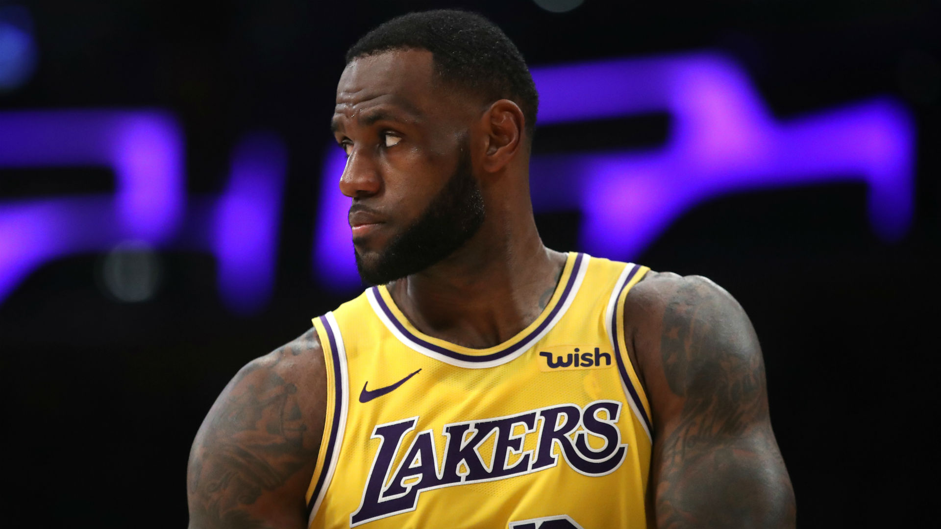 5e2f961dad6 Lakers star LeBron James will not play vs. Jazz