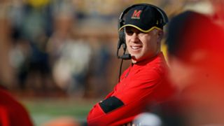 Maryland coach D.J. Durkin