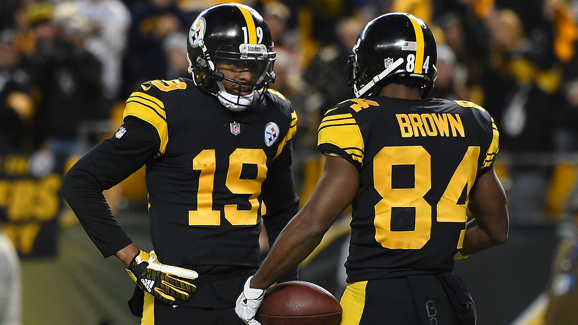 Did JuJu Smith-Schuster just throw shade at Antonio Brown?