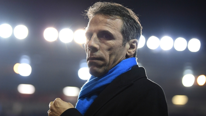 Gianfranco Zola feels abuse will always be present on social media