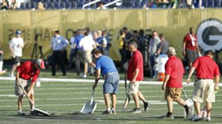The HoF game grounds crew