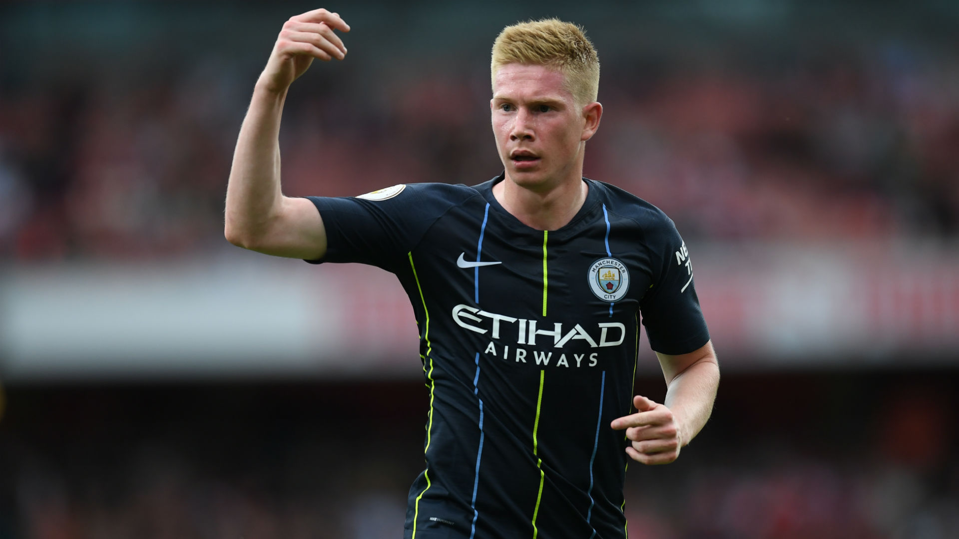 Kevin De Bruyne could return for Manchester City vs Liverpool