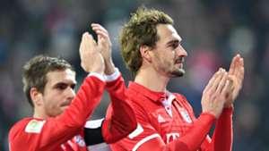 Philipp Lahm and Mats Hummels