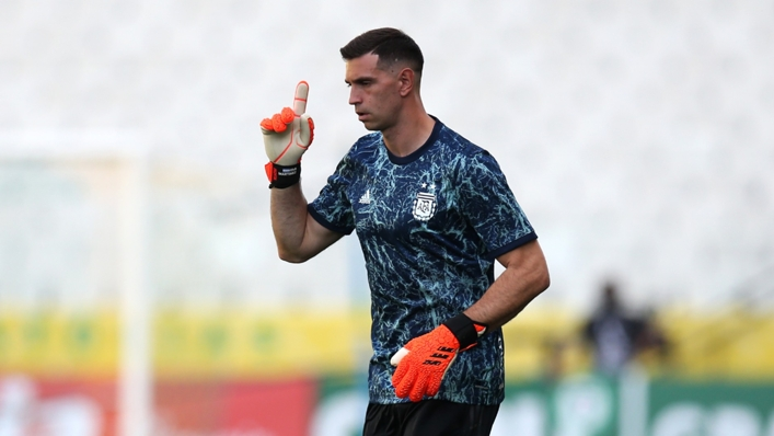 Emiliano Martinez was one of the players at the centre of a dispute with Brazilian health authorities