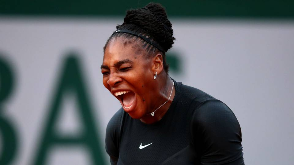 French Open 2018: 'Superhero' Serena Williams rallies to advance