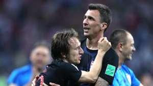 Luka Modric Mario Mandzukic