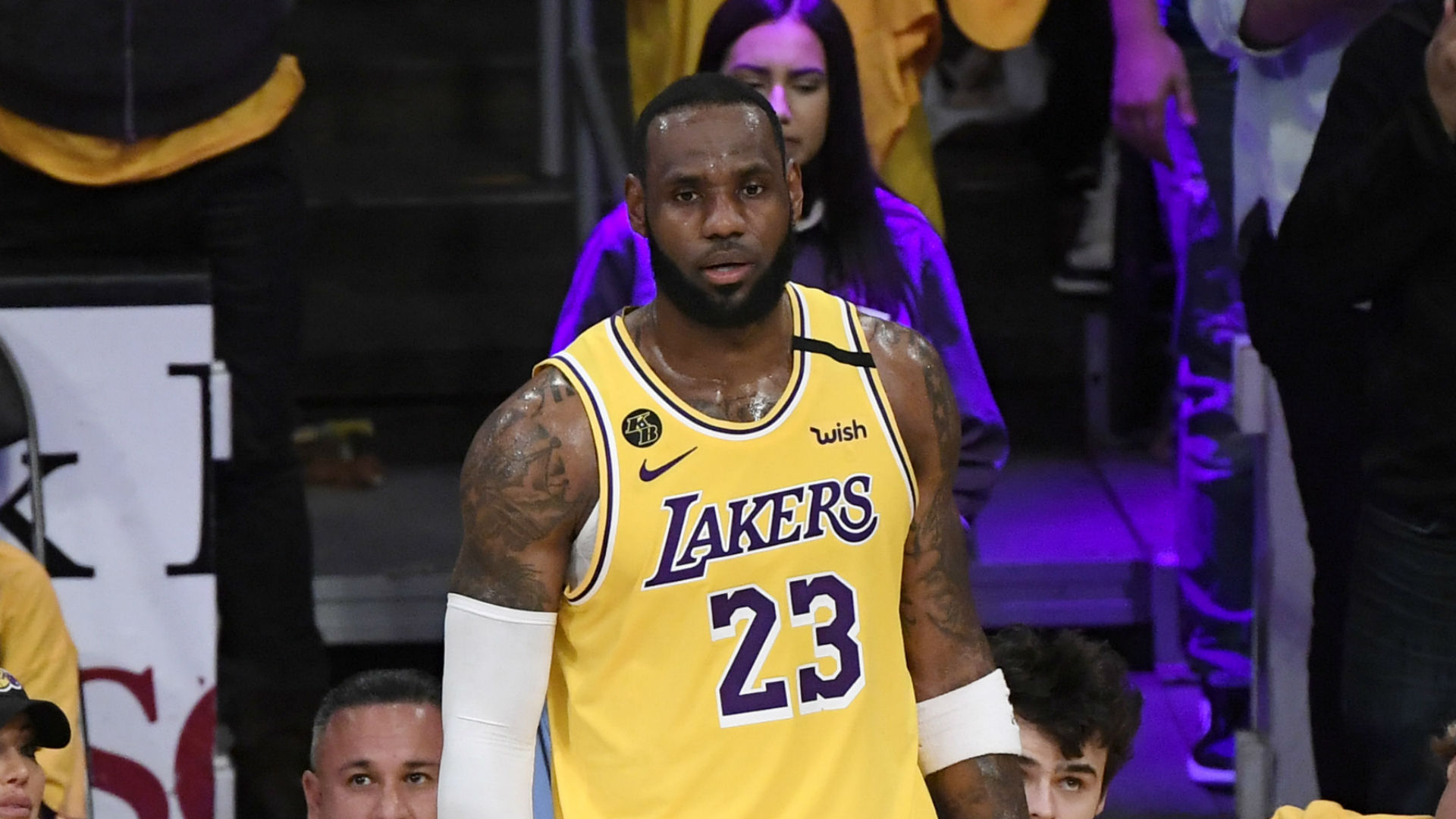 LeBron James: 'sexto hombre' Kobe Bryant 'se metió en mi cuerpo' para homenaje 2
