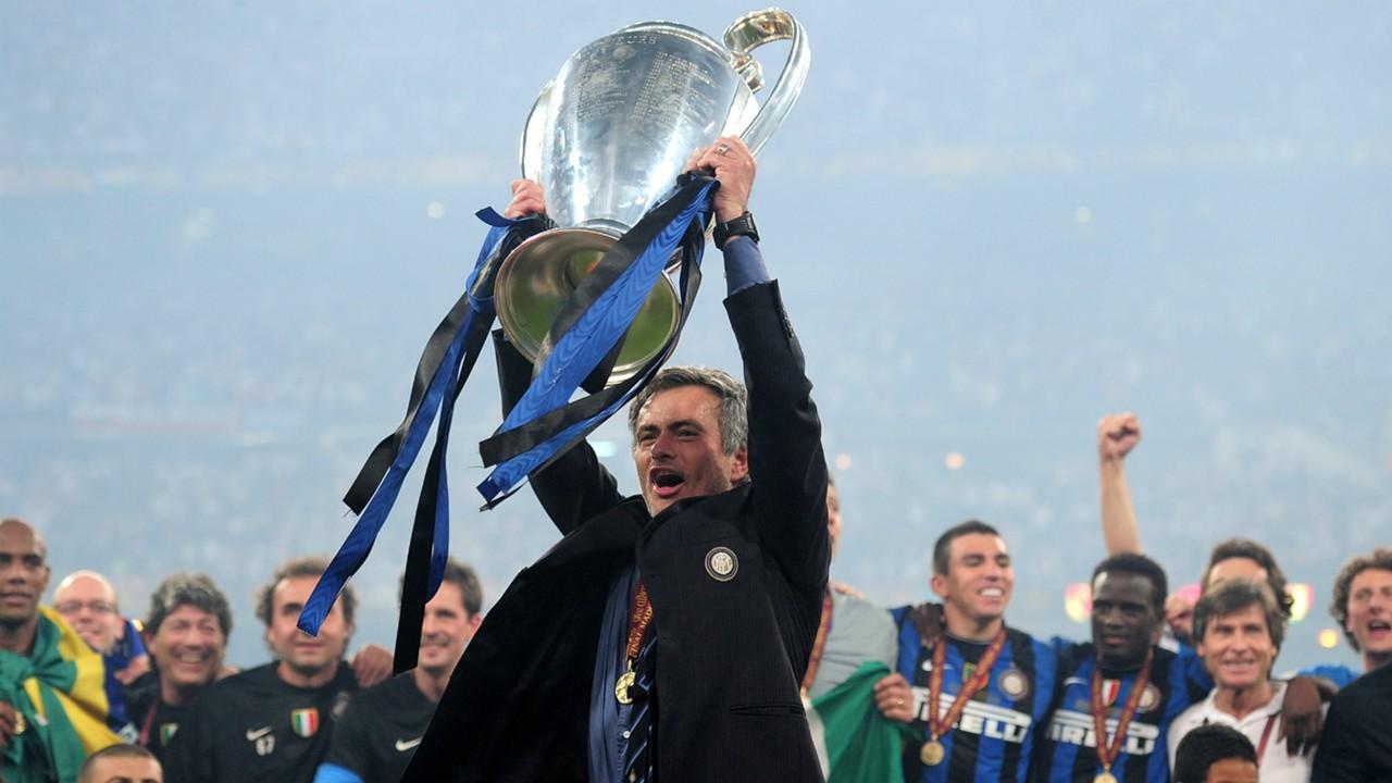Image result for jose mourinho champions league inter