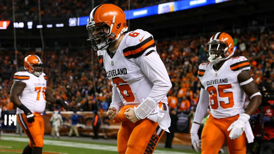 Baker Mayfield fined $10K for 'lewd' TD celebration, report says