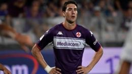 Fiorentina star Dusan Vlahovic