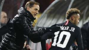 Thomas Tuchel and Neymar - cropped