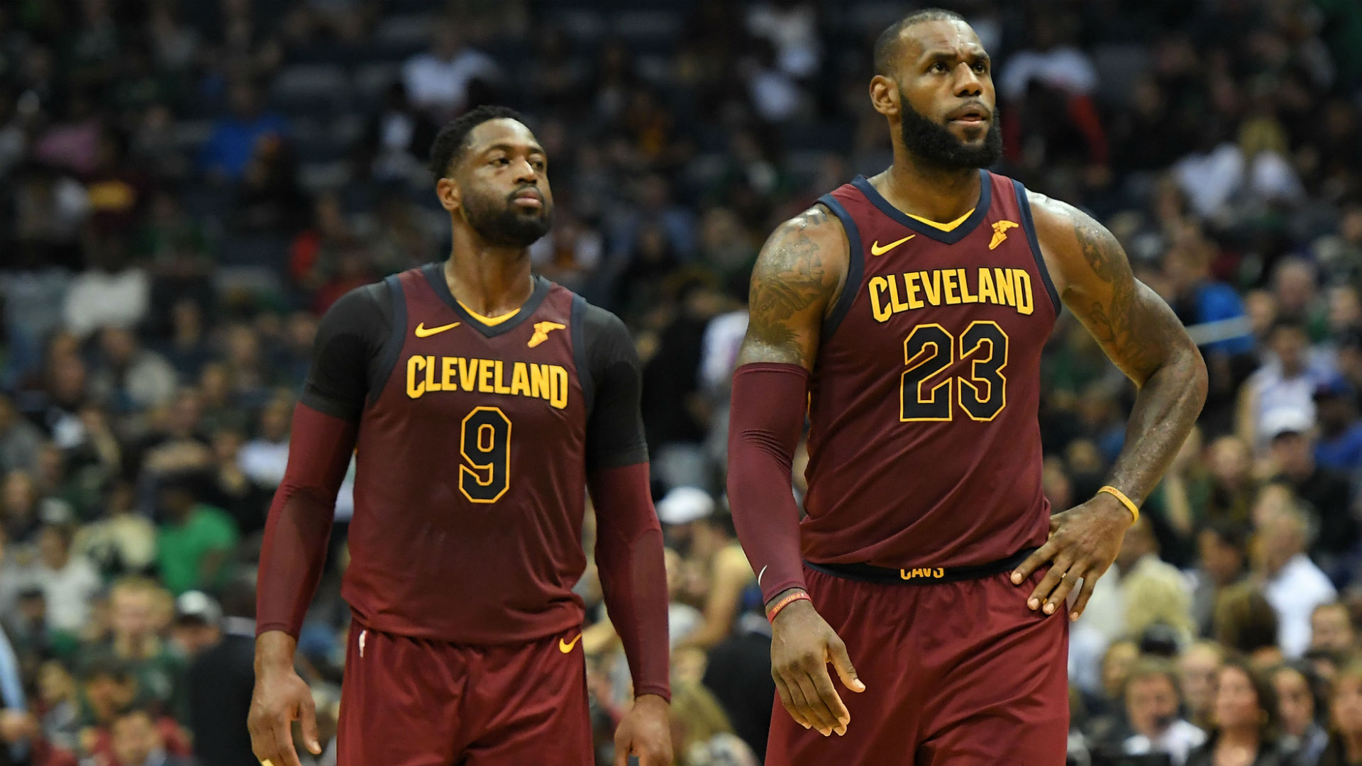 Jae Crowder on Cavs' 4th lineup change: 'We haven't found our groove yet'