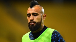 Arturo Vidal is isolating from Chile team-mates after testing positive for COVID-19