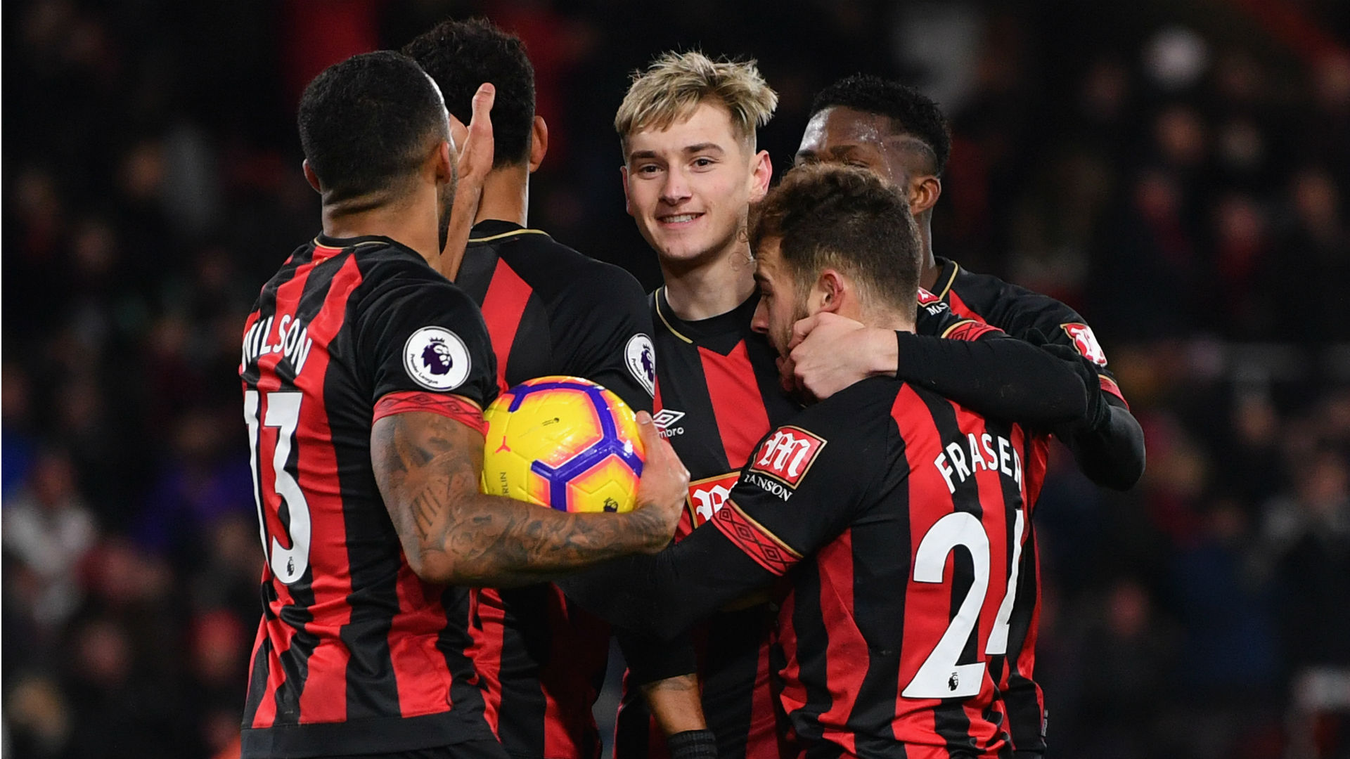 Bournemouth, Watford draw in six-goal thriller