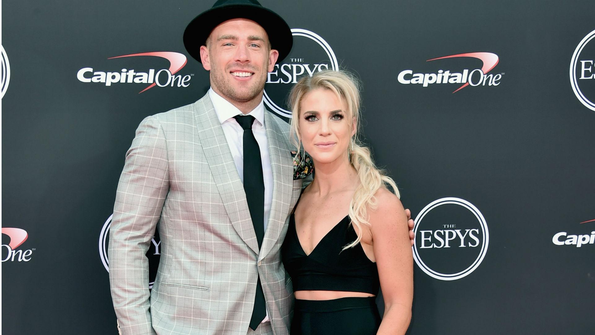 Julie Ertz was most 'nervous' cheering on Zach Ertz at Super Bowl