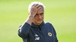 Jose Mourinho saw Roma slide to a dismal defeat