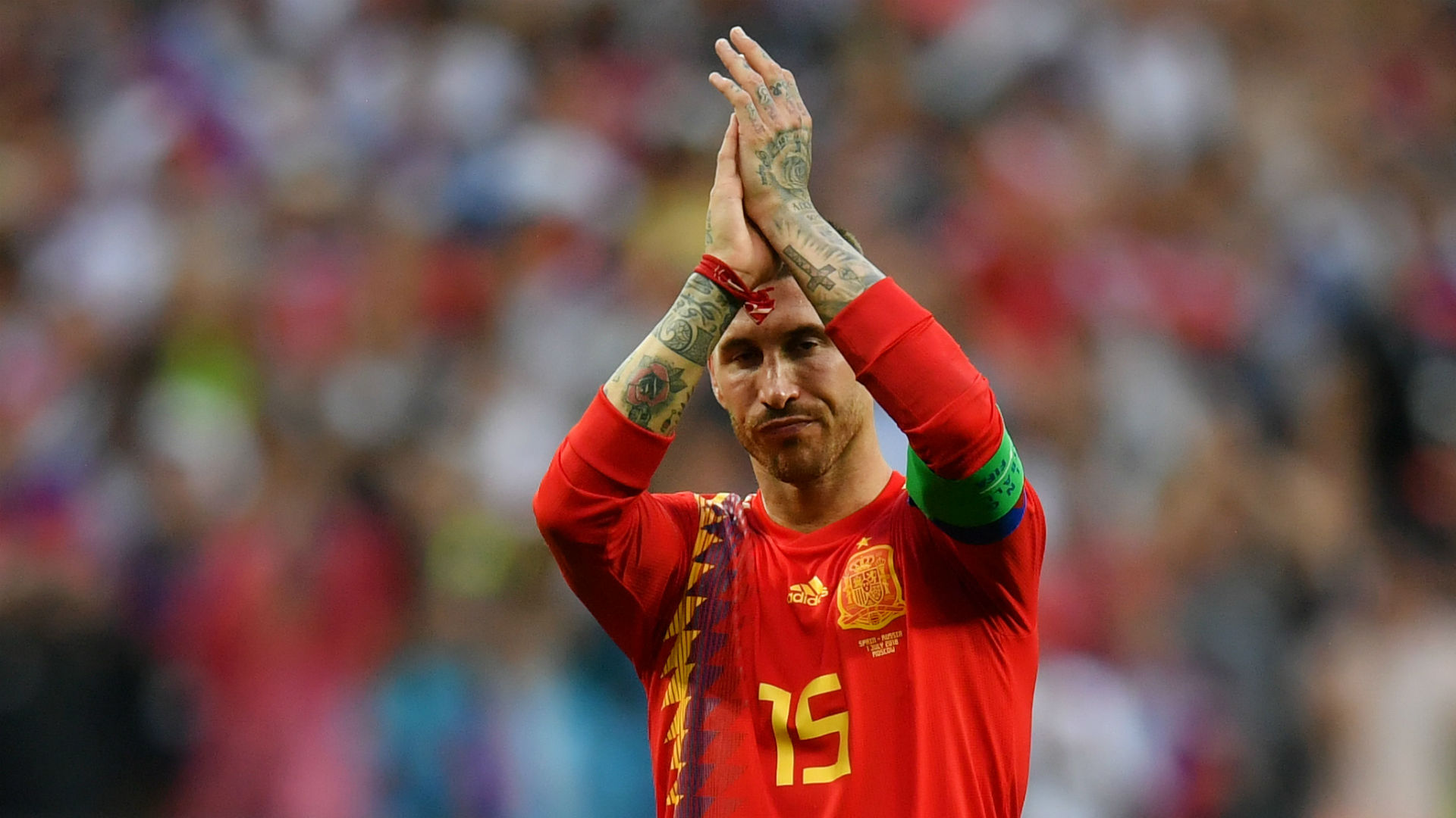 Sergio Ramos 'not concerned' about Mohamed Salah fallout