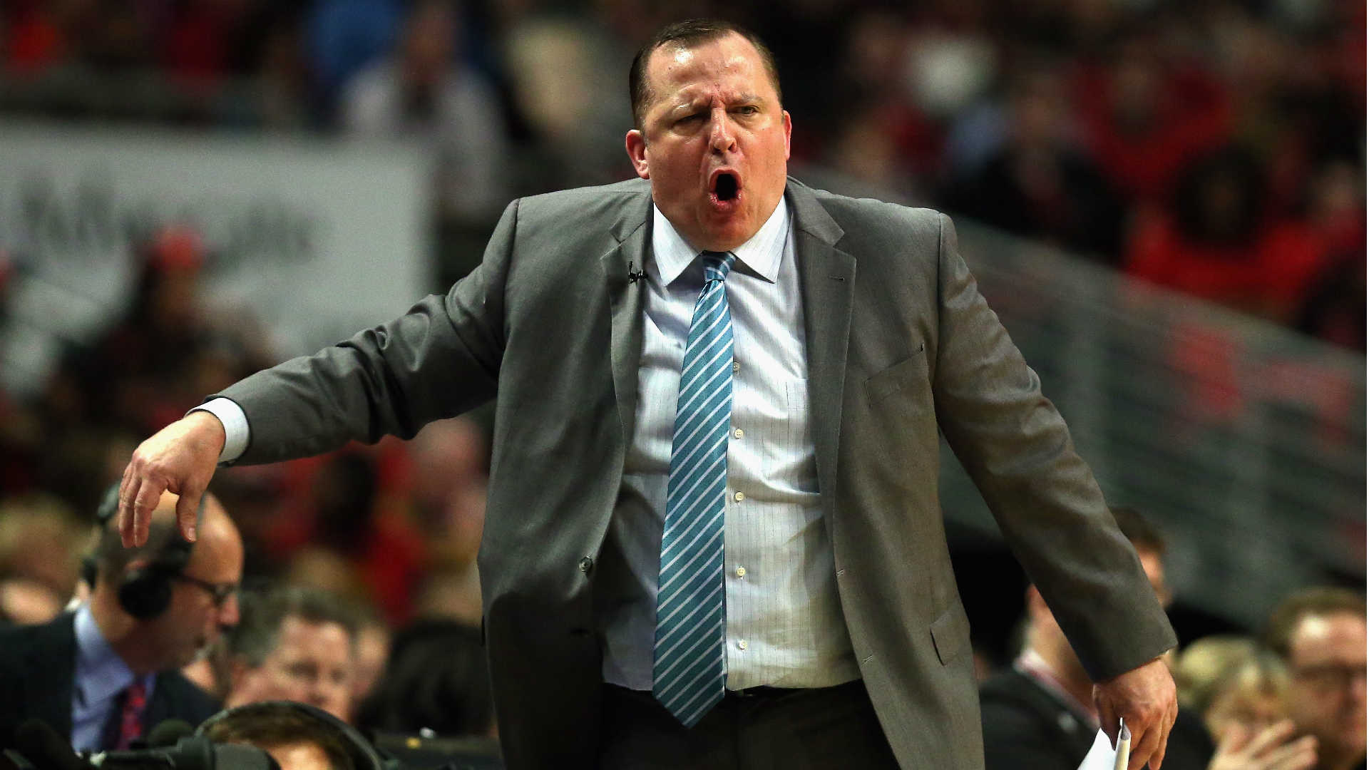 Jimmy Butler reveals Tom Thibodeau's angry halftime speech filled with F-bombs