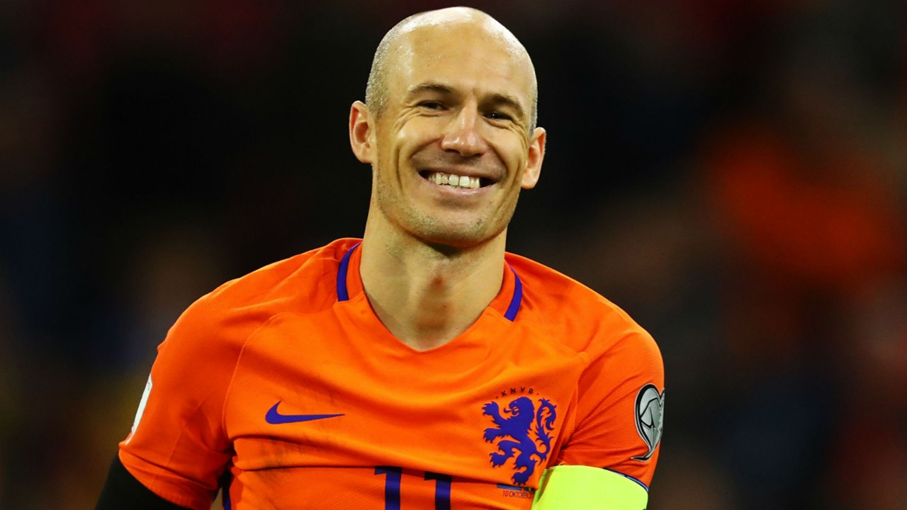 Arjen Robben Future is bright for Netherlands