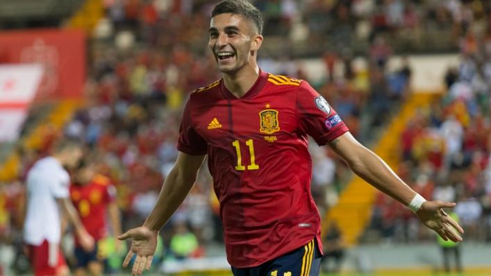 Ferran Torres was injured on Spain duty