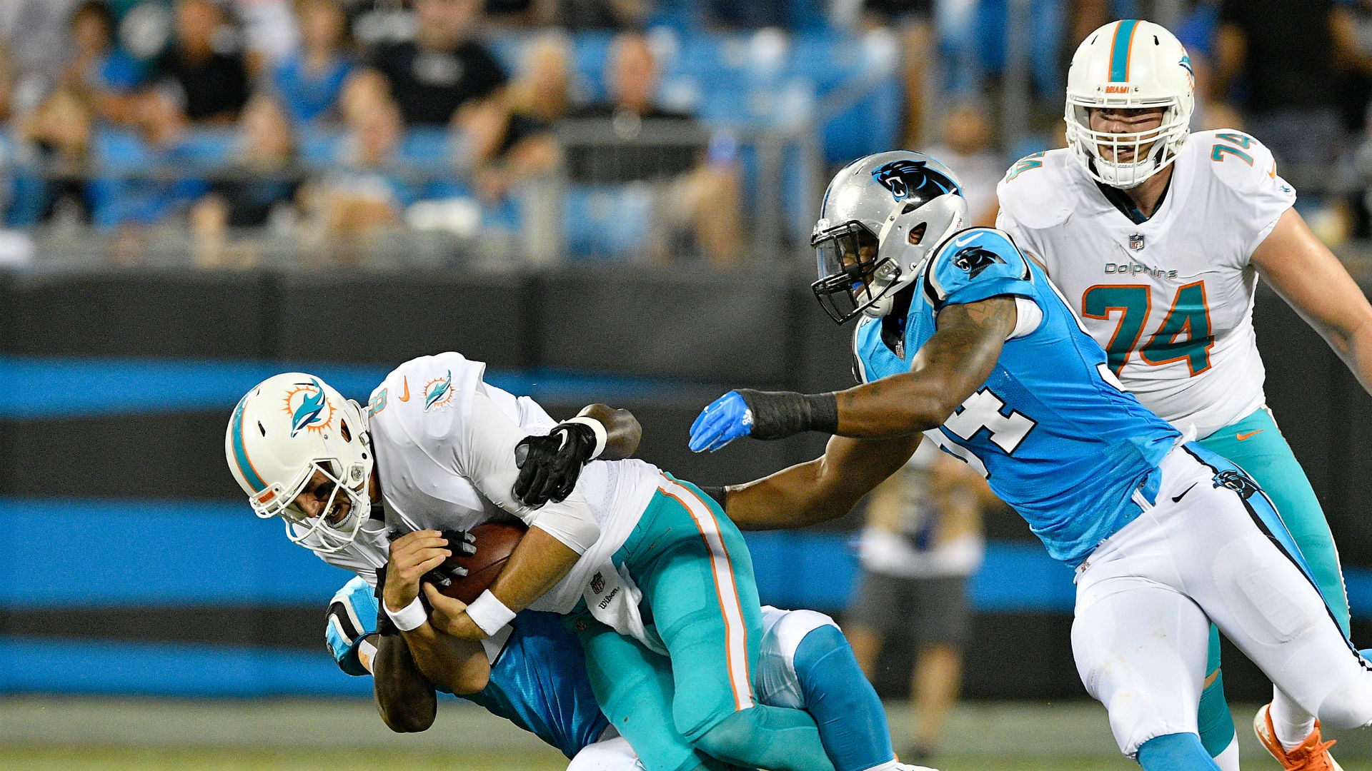 e3a8124d7 Obada makes Panthers roster after growing up homeless | Sporting News